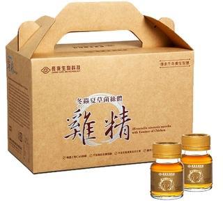 【長庚生技】冬蟲夏草菌絲體雞精30瓶/盒(40毫升/瓶)