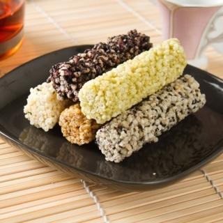 【本週特價!  台灣製老師傅】小米酥海苔黑糖綜合口味(1包12支入)