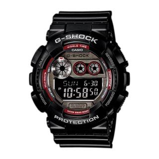 【CASIO 卡西歐 G-SHOCK 系列】日系限量款-高亮度LED_防水200米(GD-120TS)