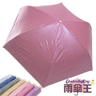 【雨傘王】輕量小方格-可愛方格自動開收傘(7色可選)