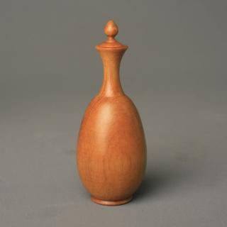 【荒木雕塑藝品】聞香寶瓶(台灣檜木2)