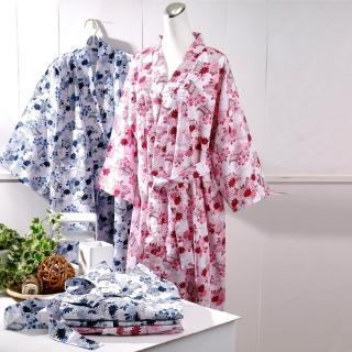 【伊豆】日式和風睡浴袍(超值2入組)