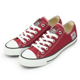 【VISION STREET WEAR】男 經典帆布鞋(棗紅 V22009)