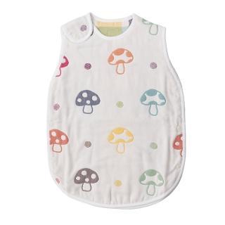 【Hoppetta】六層紗蘑菇防踢背心(嬰兒)