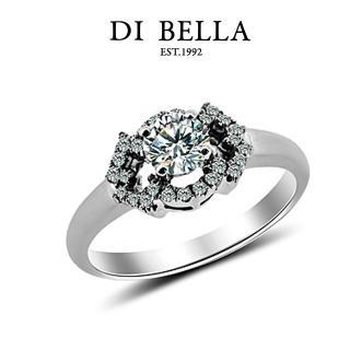 【DI BELLA】極致0.50克拉八心八箭鑽戒