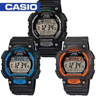 【CASIO 卡西歐】太陽能電力休閒運動錶(STL-S100H)
