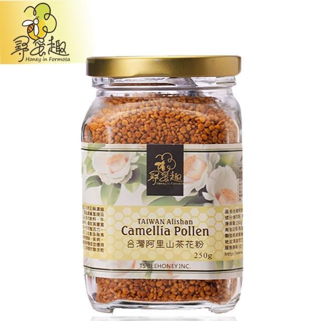 【尋蜜趣】台灣阿里山茶花粉(250g/罐)