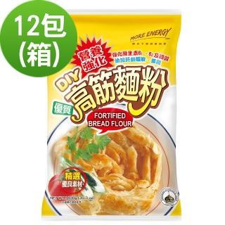 【日正食品】營養強化高筋麵粉(1000g*12入)