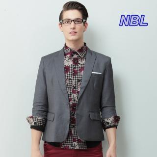 【NBL-NEWBOYLONDON】J0167窄版七分袖西裝