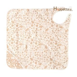 【Hoppetta】有機棉軟綿綿雪花浴巾圍裙