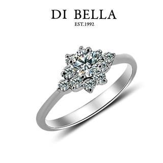 【DI BELLA】花的姿態0.30克拉八心八箭頂級完美鑽戒