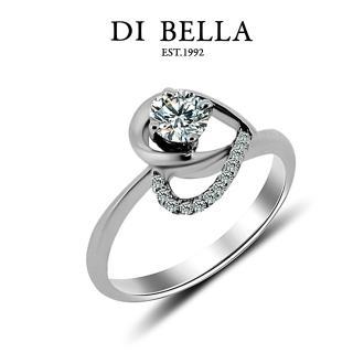 【DI BELLA】LOVE DIAMOND頂級完美車工0.30克拉鑽戒