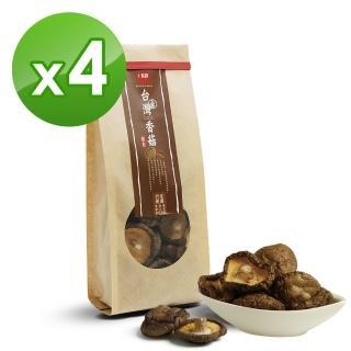 【十翼饌】上等台灣新社香菇(110g x4包)