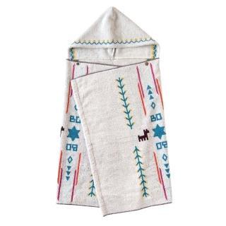【BOBO】小樹苗連帽浴巾