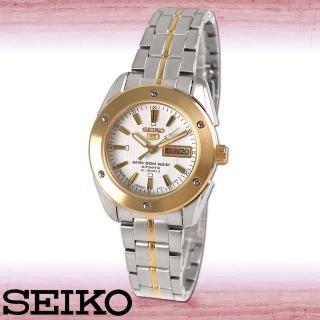 【SEIKO 精工】日製歐風貴族半金機械女錶(SYMH74J1)