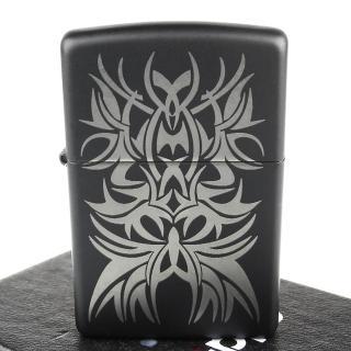 【ZIPPO】美系-Tattoo Mark-紋身圖案雷射雕刻打火機