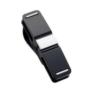【SEIKO】360°旋轉式多功能遮陽板眼鏡夾(銀)