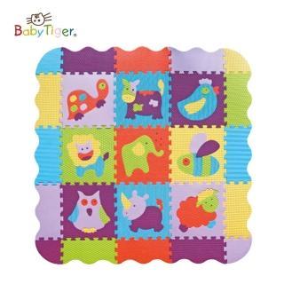 【BabyTiger虎兒寶】MIT 遊戲爬行地墊(莊園系列-動物農場)
