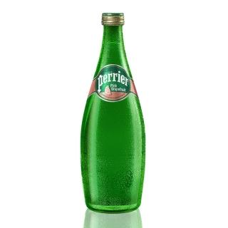 【法國Perrier】氣泡天然礦泉水-葡萄柚口味(750mlx12入)