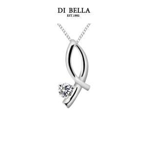 【DI BELLA】屬於 0.30克拉經典美鑽項鍊