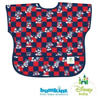 【Bumkins】junior bib 迪士尼系列-短袖防水嬰童圍兜 經典米奇(#U-DMK92)