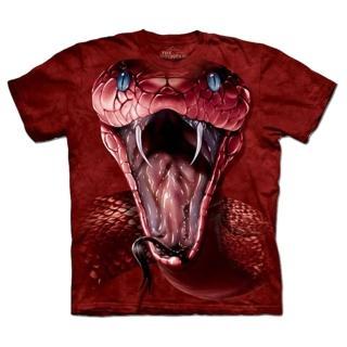 【摩達客】美國進口The Mountain 紅色曼巴蛇 設計T恤(現貨)