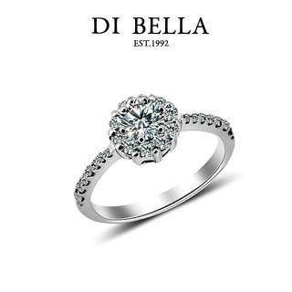 【DI BELLA】銀河星鑽0.30克拉八心八箭頂級完美鑽戒