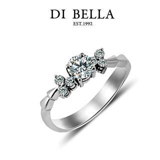 【DI BELLA】夢幻0.30克拉八心八箭頂級鑽戒