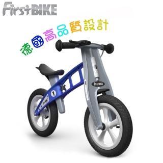 【FirstBIKE】德國高品質設計 寓教於樂-兒童滑步車/學步車(帥氣藍)
