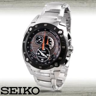 【SEIKO 精工】限量款/三眼計時碼錶(SNL043J1)