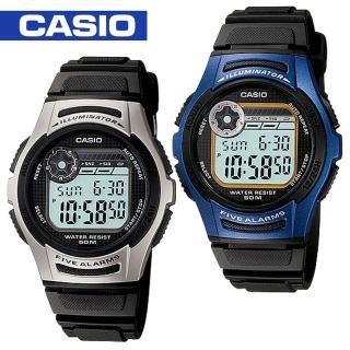 【CASIO 卡西歐】日系-學生/青少年運動錶(W-213)