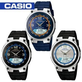 【CASIO 卡西歐】日系-釣魚/月齡休閒運動錶(AW-82)