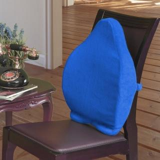 【格藍傢飾】典雅舒壓浮力全背墊藍(52*43*9cm)