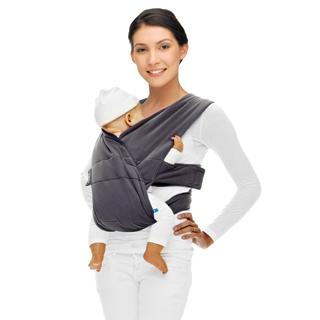 【荷蘭 wallaboo】第二代 baby carrier cross 功夫背帶(灰色)
