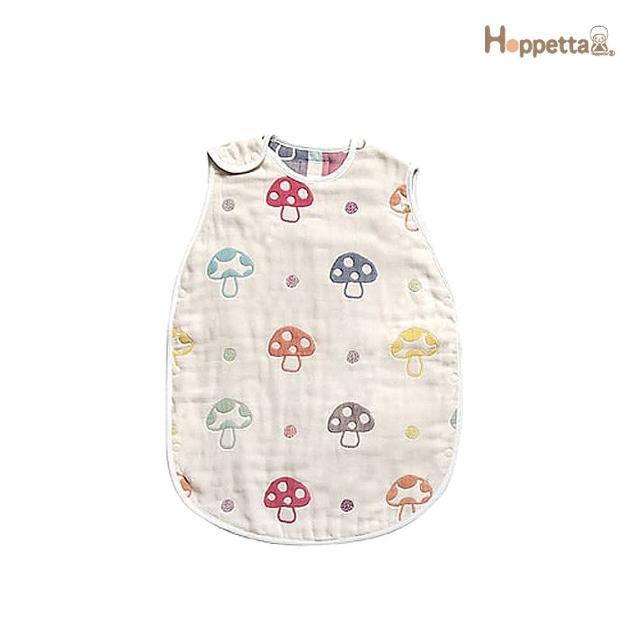 【Hoppetta】六層紗蘑菇防踢背心(嬰童版)