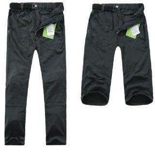 【PUSH!機能面料褲】透氣抗UV UPF40+ 可拆兩截褲長褲短褲五分褲(女款多色可選)