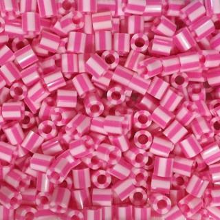 ~Perler 拼拼豆豆~1000顆單色補充包~109糖果條紋^(特殊色^)