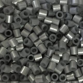 ~Perler 拼拼豆豆~1000顆單色補充包~105珠光銀鼠^(特殊色^)