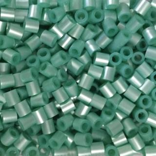 ~Perler 拼拼豆豆~1000顆單色補充包~101珠光湖藍^(特殊色^)