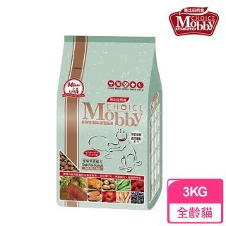 【莫比Mobby】愛貓無穀配方 鹿肉燻鮭魚(3公斤)