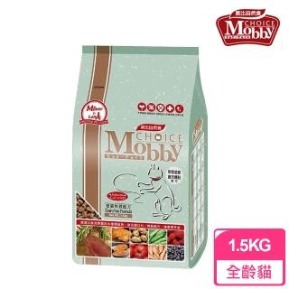 【莫比Mobby】愛貓無穀配方 鹿肉燻鮭魚(1.5公斤)