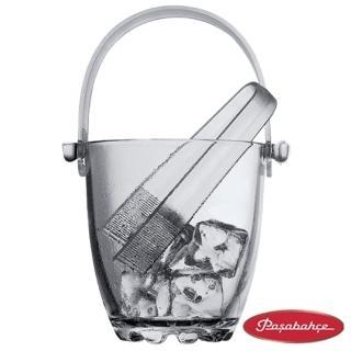 【土耳其Pasabahce】珠底玻璃冰桶(P53628)
