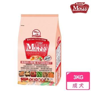 【莫比Mobby】成犬專用配方 鮭魚+馬鈴薯(3公斤)