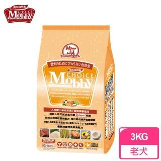 【莫比Mobby】肥滿犬/高齡犬/老犬 專用配方 羊肉+米(3公斤)