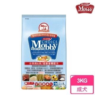 【莫比Mobby】中大型成犬專用配方 羊肉+米(3公斤)