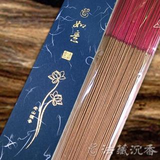 【法藏沉香】老山檀香-如意-尺三、尺六立香(4盒入)