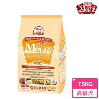 【莫比Mobby】肥滿犬/高齡犬/老犬 專用配方 羊肉+米(7.5公斤)