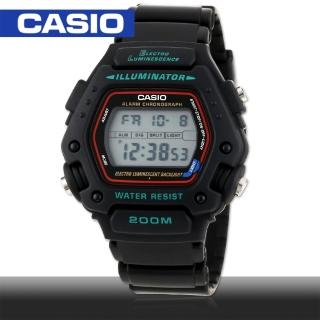 【CASIO 卡西歐】當兵首選/學生指定款運動錶(DW-290)