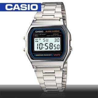 【CASIO 卡西歐】日系-復古風數字電子錶(A158WA)