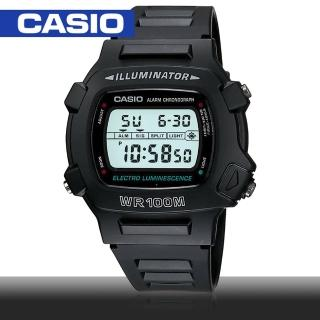 【CASIO 卡西歐】夏日衝浪/當兵/運動指定錶(W-740)